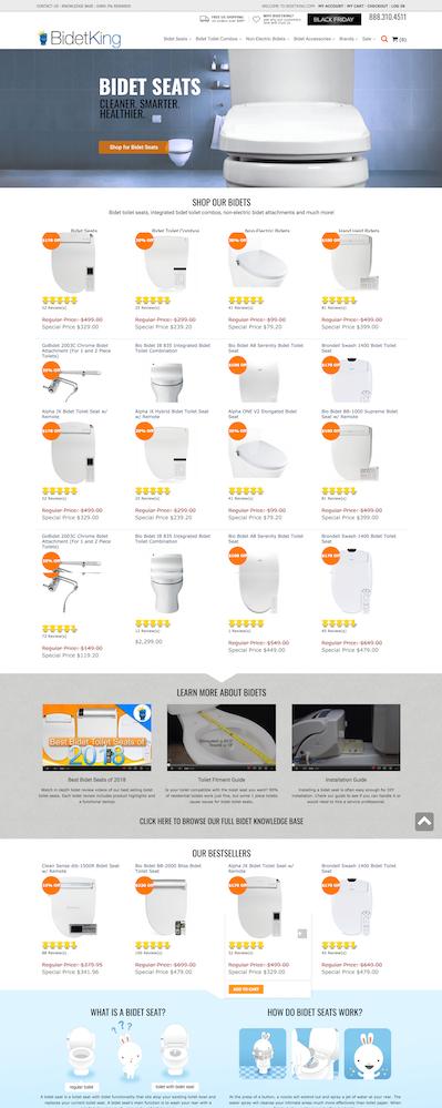 magento开发建站卫浴,建材案例